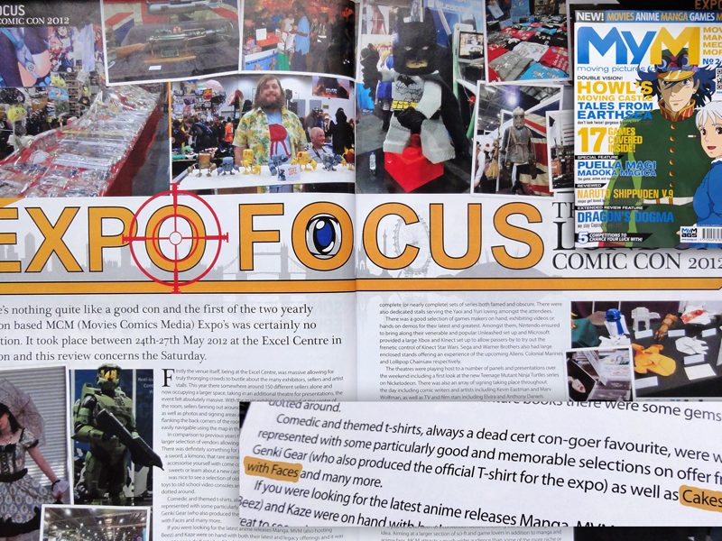 MyM Magazine feature about MCM Expo