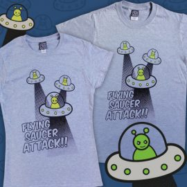 Flying Saucer Attack Sci-fi T-Shirt
